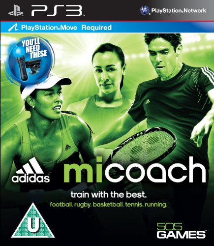 Adidas MI Coach - Move Required (PS3) from 505 Games