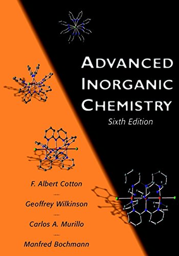 Advanced Inorganic Chemistry: A Comprehensive Text from Wiley-Blackwell
