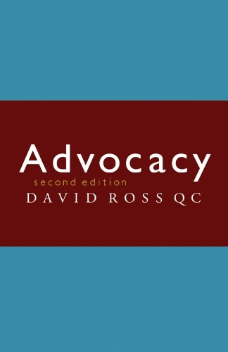 Advocacy Second Edition from Cambridge University Press