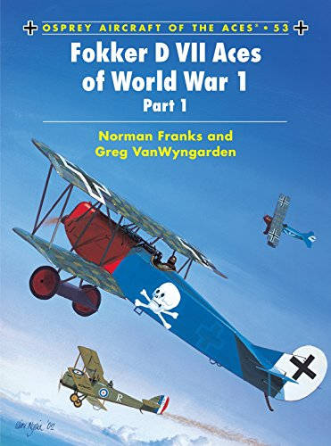 Aircraft of the Aces 53 - Fokker D-VII Aces of World War 1 - Part 1 from Osprey Publishing