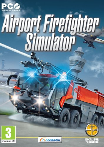 Airport Fire Fighter Simulator (PC CD) from Excalibur Games