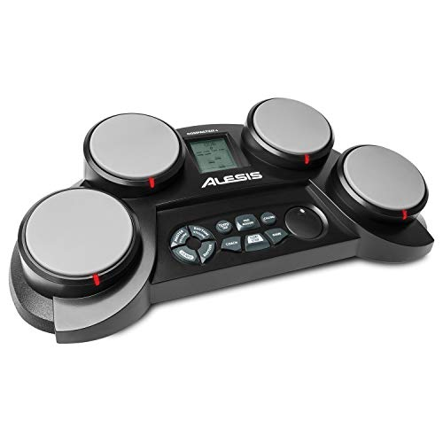 Alesis CompactKit 4 Portable Electronic Drum Kit with Coach Feature and Game Function - incl. drumsticks from Alesis