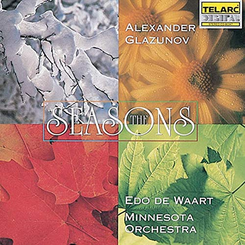 Alexander Glazunov: The Seasons from TELARC