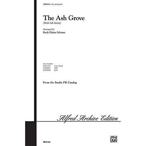 Alfred 00-SVM01034 The Ash Grove - Music Book from Alfred Publishing