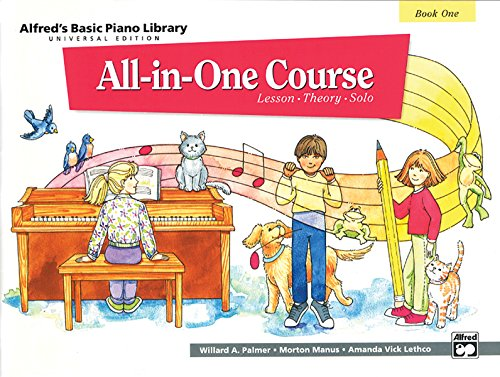 Alfred's Basic Piano Library All-In-One Course Book One: Universal Edition from Alfred Music
