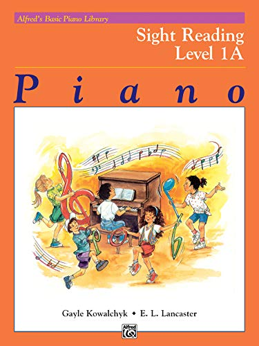Alfred's Basic Piano Library Sight Reading, Bk 1A from Alfred Music