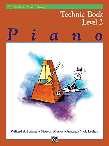 Alfred's Basic Piano Library Technic, Bk 2 from Alfred Music