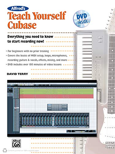 Alfred's Teach Yourself Cubase (Book & DVD) from Alfred Music