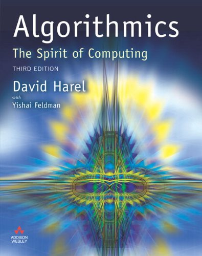 Algorithmics: The Spirit of Computing from Addison Wesley