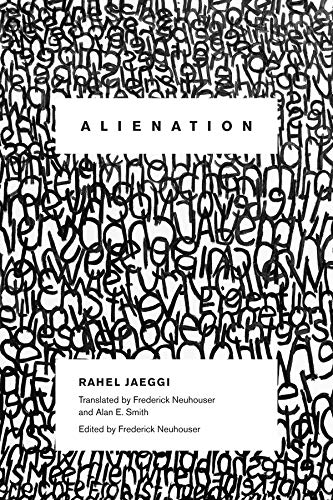 Alienation (New Directions in Critical Theory) from Columbia University Press