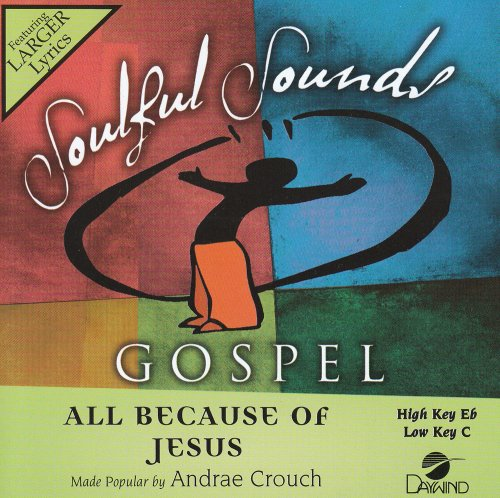 All Because Of Jesus [Accompaniment/Performance Track] from Daywind