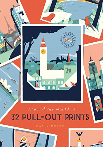 Alphabet Cities: Around the World in 32 Pull-out Prints from Virgin Books