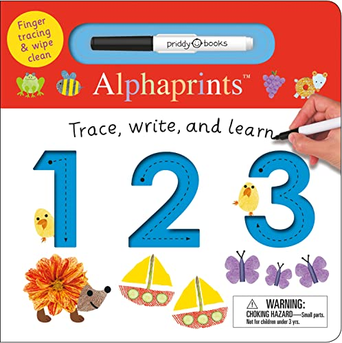 Alphaprints: Trace, Write, and Learn 123 from Macmillan USA