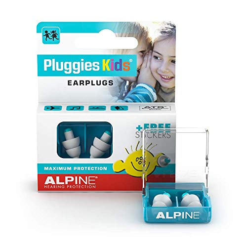 Alpine Pluggies Kids - Ear Plugs to Protect Children's Hearing from Alpine Hearing Protection