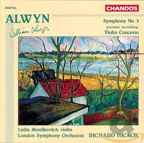 Alwyn: Symphony No. 3; Violin Concerto from CHANDOS GROUP