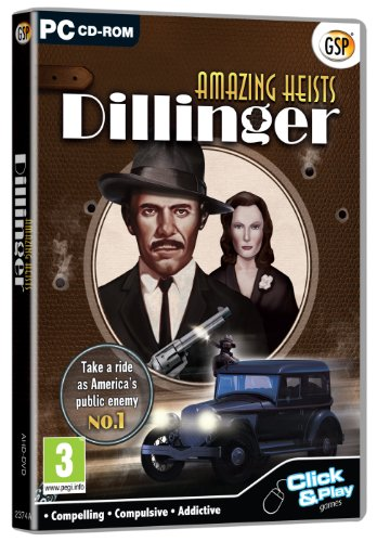 Amazing Heists: Dillinger (PC CD) from Avanquest Software