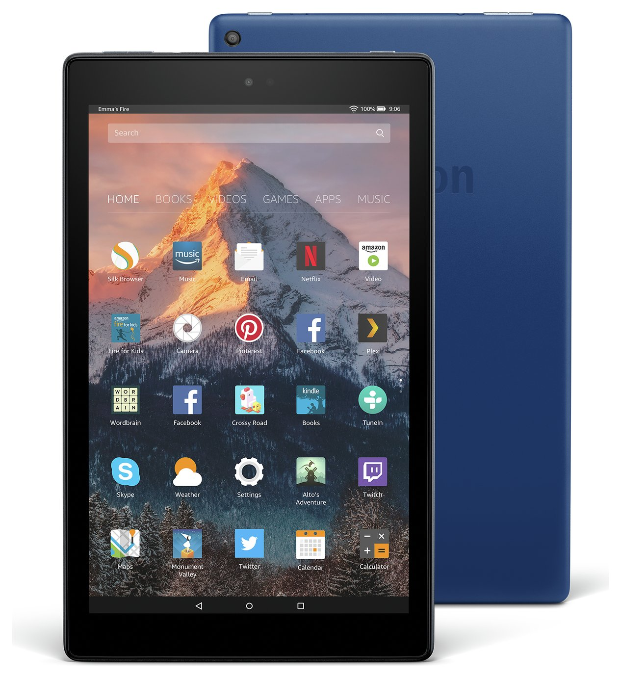 Amazon Fire 10 10.1 Inch 32GB Tablet - Blue from Amazon