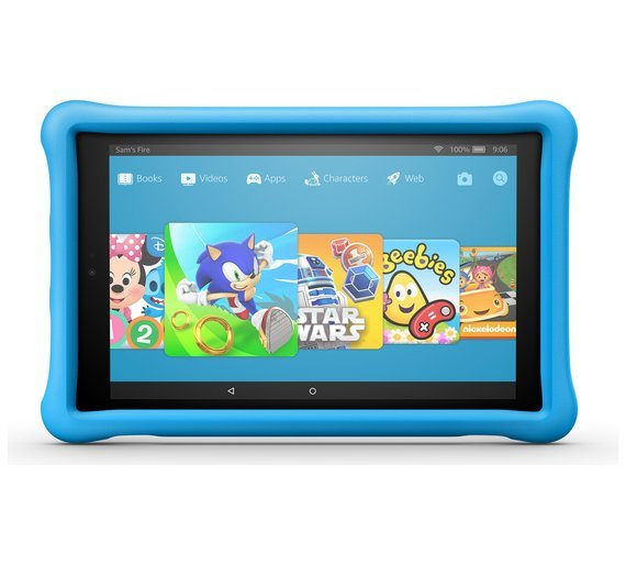 Amazon Fire HD 10 10.1 Inch 32GB Kids Edition Tablet - Blue from Amazon