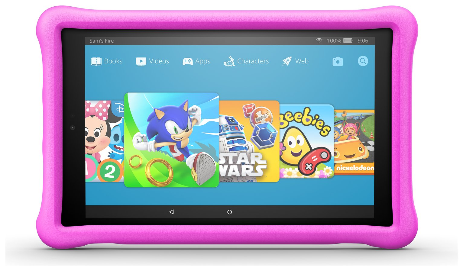 Amazon Fire HD 10 10.1 Inch 32GB Kids Edition Tablet - Pink from Amazon