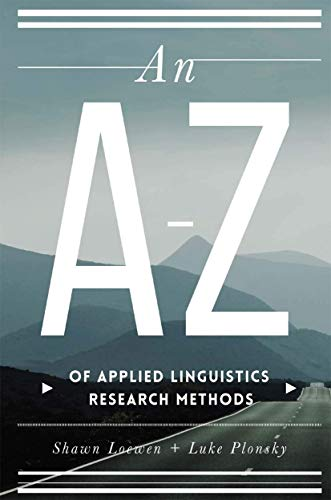 An AZ of Applied Linguistics Research Methods from Palgrave