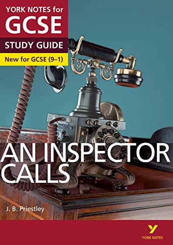 An Inspector Calls: York Notes for GCSE (9-1) from Pearson Education Limited