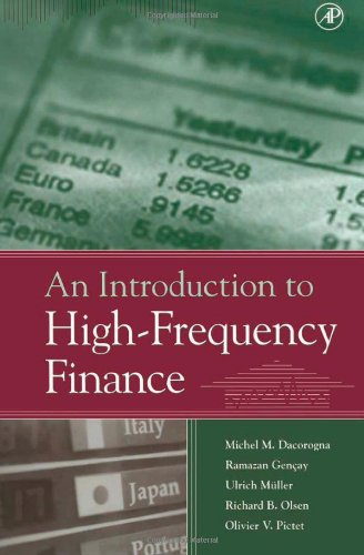 An Introduction to High-Frequency Finance from Academic Press