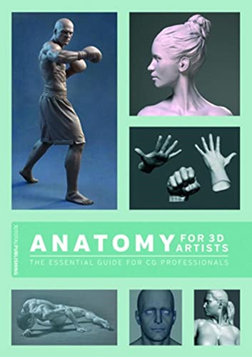 Anatomy for 3D Artists: The Essential Guide for CG Professionals from KLO80