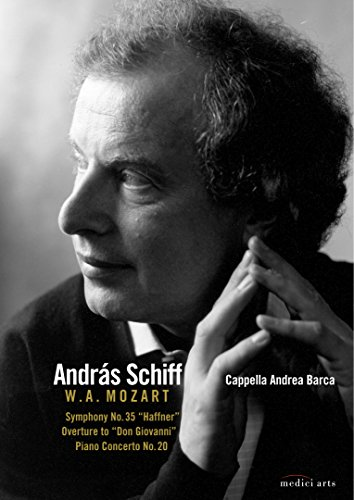 Andras Schiff plays and conducts Mozart [DVD] [2009] from EuroArts
