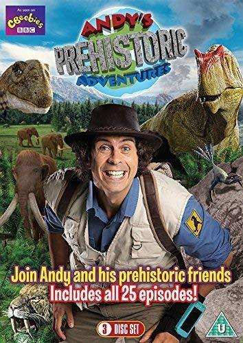Andy's Prehistoric Adventures - The Complete Series (3 DVD Set All 25 Episodes) [DVD] from Spirit Entertainment Limited