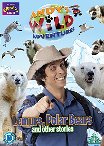 Andy's Wild Adventures - Lemurs, Polar Bears and other stories [DVD] from Spirit Entertainment Limited