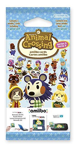 Animal Crossing: Happy Home Designer Amiibo Cards Pack - Series 3 from Nintendo