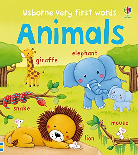 Animals (Very First Words): 1 from Usborne Publishing Ltd