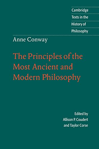 Anne Conway: Ancient & Modern Phil (Cambridge Texts in the History of Philosophy) from Cambridge University Press