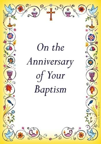 Anniversary of Baptism Card from SPCK Publishing