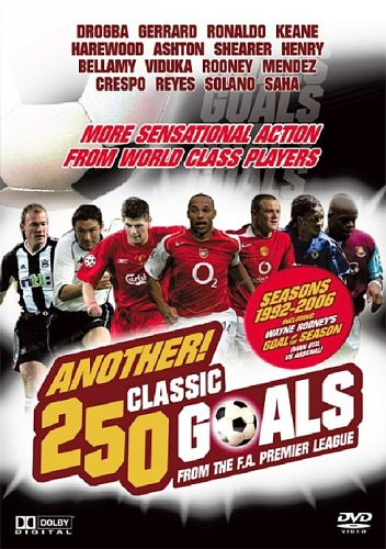 Another 250 Classic Goals - From The F.A. Premier League [DVD] from Boulevard