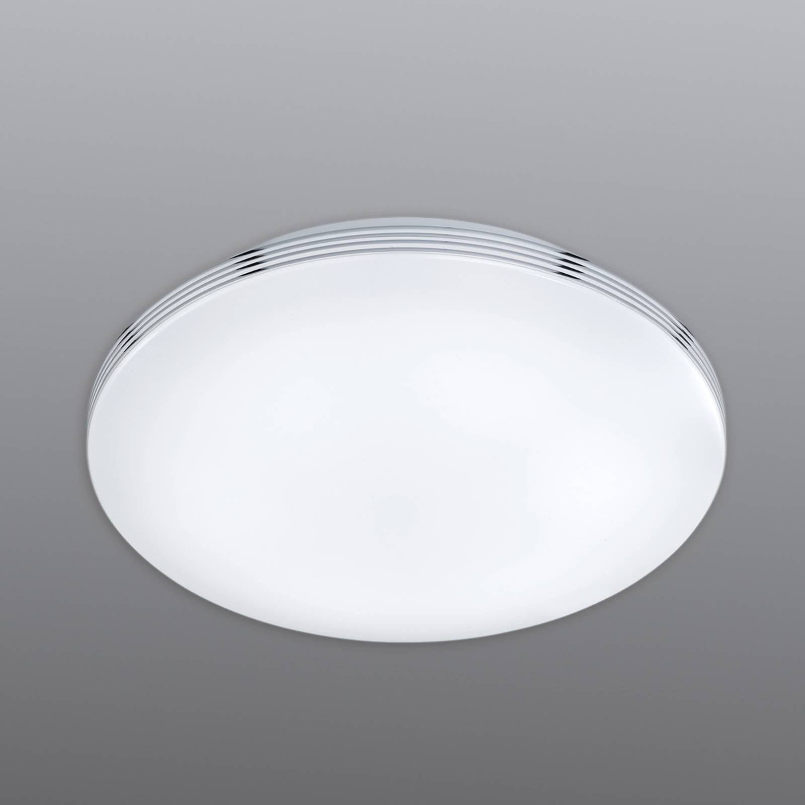 Apart bathroom ceiling light with LEDs from Trio Lighting