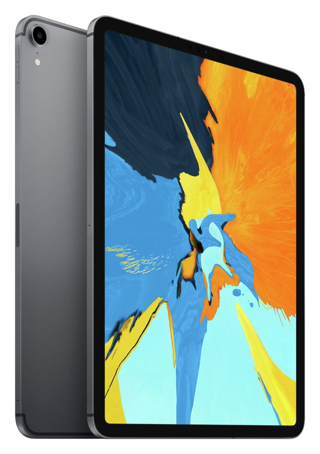 Apple iPad Pro 2018 11 Inch Wi-Fi Cellular 64GB - Space Grey from Apple