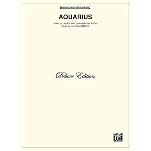 Aquarius (from Hair) Sheet from Alfred Music