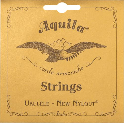 Aquila Nylgut Concerto Ukulele Strings 7U Regular GCEA from Aquila