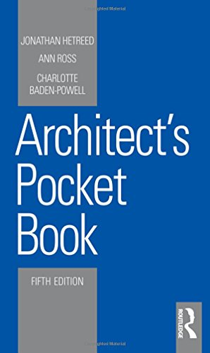 Architect's Pocket Book (Routledge Pocket Books) from Routledge