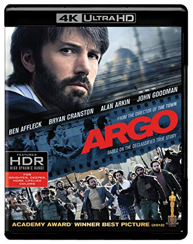 Argo (Theatrical) (4K Ultra HD) [Blu-ray] from Warner Manufacturing