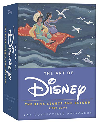 The Art of Disney Postcards: The Renaissance and Beyond (1989-2014) 100 Collectible Postcards from Chronicle Books