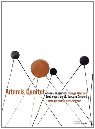 Artemis Quartet: Strings Attached [DVD] [2008] from EuroArts