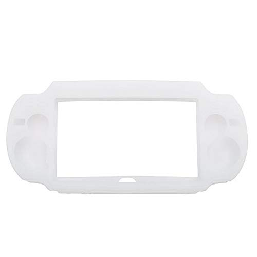 Assecure Soft White Silicone Skin Protector Cover Case for Sony PS Vita (PSP Vita) from Assecure