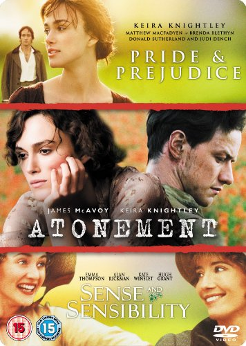 Atonement/Pride And Prejudice/Sense And Sensibility [DVD] from UCA