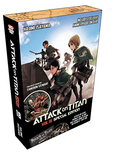 Attack on Titan 18 Manga Special Edition W/DVD (Attack on Titan Special Edition) from Kodansha Comics