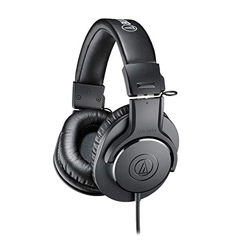 Audio-Technica ATH-M20X Professional Headphones - Black from Audio-Technica