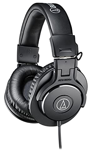 Audio-Technica ATH-M30X Professional Headphones - Black from Audio-Technica