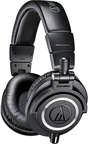 Audio-Technica ATH-M50X Studio Monitor Professional Headphones - Black from Audio-Technica