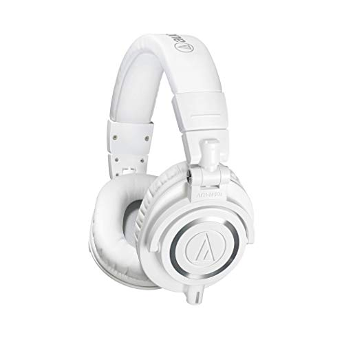 Audio-Technica ATH-M50X Studio Monitor Professional Headphones - White from Audio-Technica